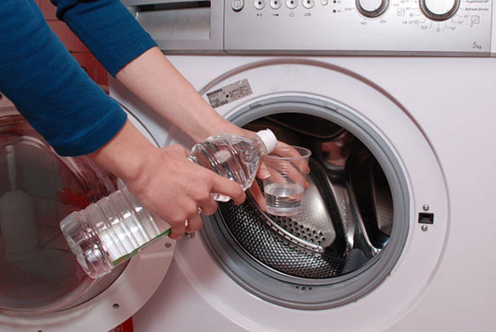 Удаляем накипь из стиральной машины