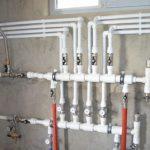 Распределительная гребенка системы отопления: приминение