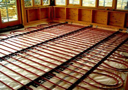 Теплый пол под линолеум на бетонный пол монтажный инструктаж по шагам