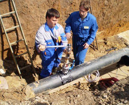 Прокладка газопровода к частному дому методы оборудование требования
