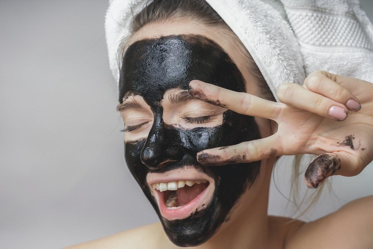 Домашняя маска от черных точек