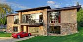 Как построить гараж из профнастила на монолитном фундамент 🧱