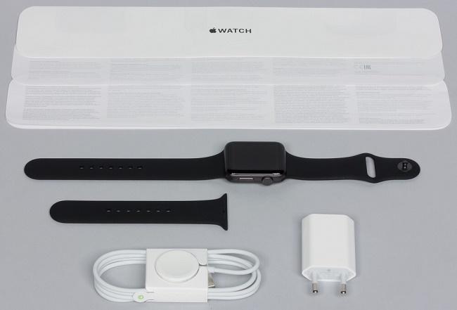 Apple Watch Series 3: комплектация, характеристики, функции, время работы