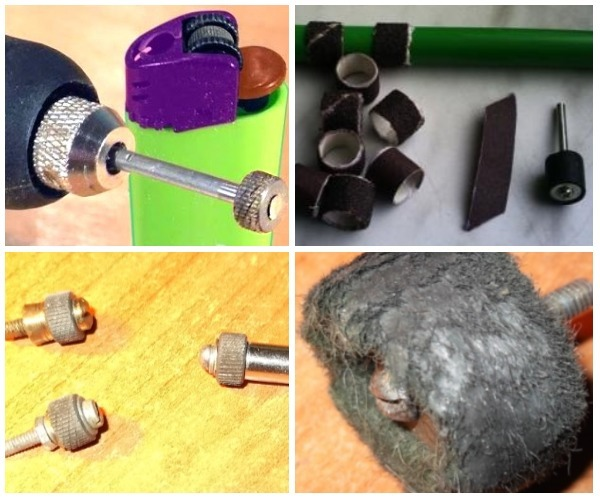 Какие насадки на гравер используются для работы по дереву, металлу, камню