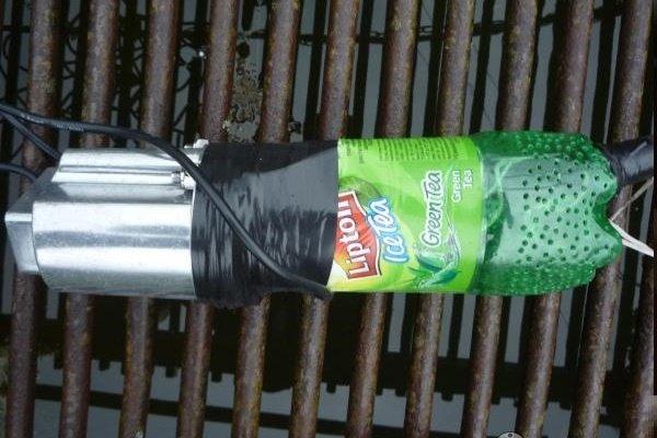 Самодельное приспособление защиты от водорослей