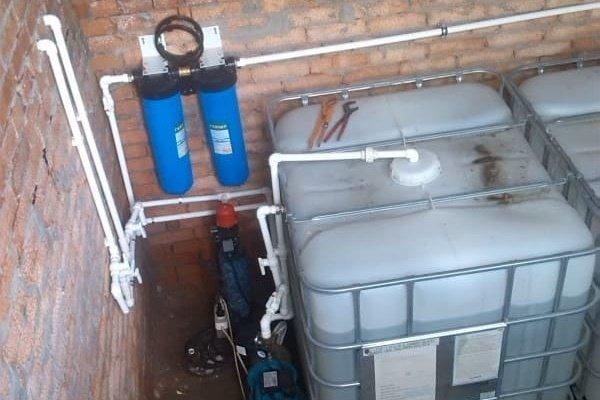 Система для резервного запаса воды