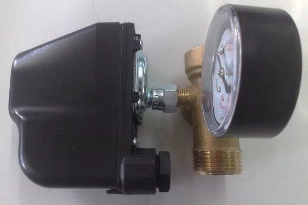 Компоненты и устройство реле давления