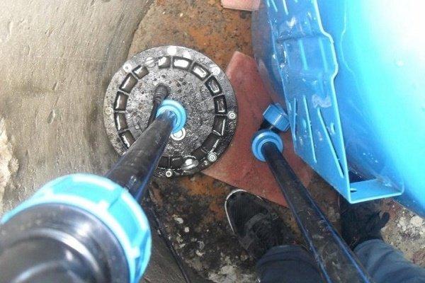 Шаг 7: Обратный клапан гидробака для ветки на полив