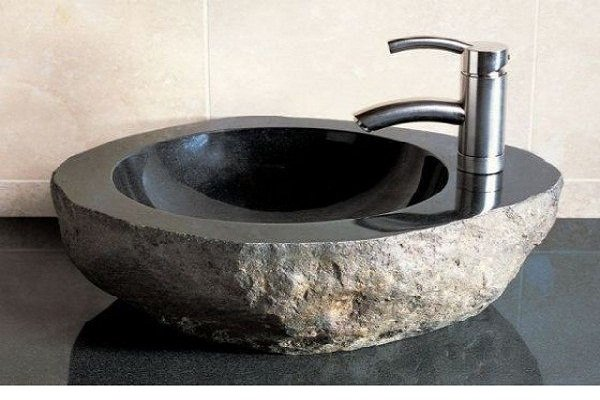 Раковина из гранита для ванной