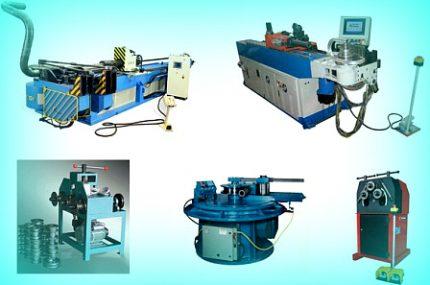 Оборудование для гибки труб на производстве
