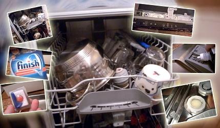 Моющие средства для посудомоек