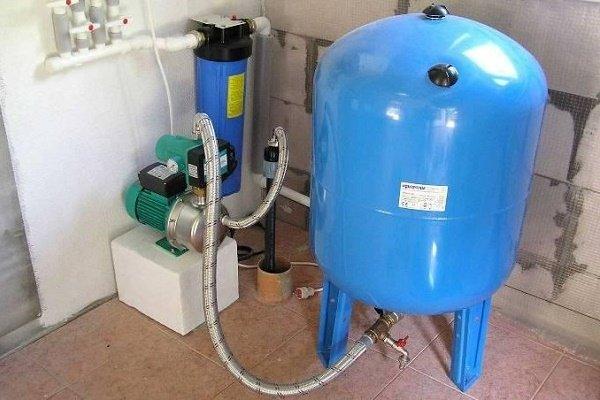 Насосная станция как повышающий давление агрегат