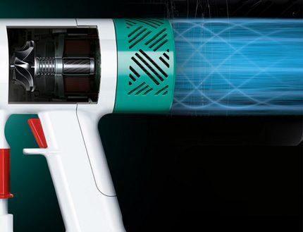 Электродвигатель пылесоса Dyson v6