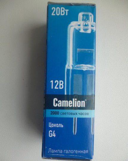 Лампа Камелион