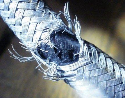 Оплетка из оцинкованной проволоки