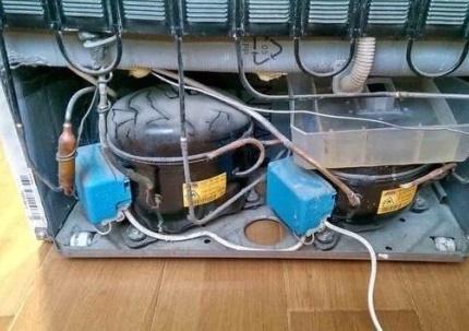 Недостатки холодильников с двумя компрессорами