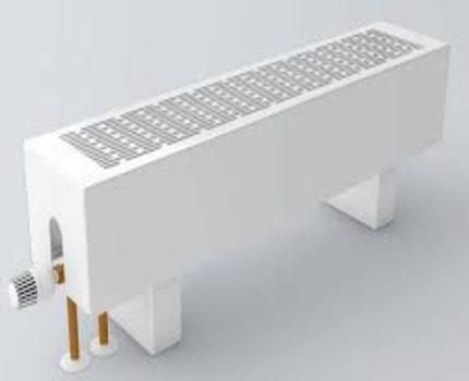 Напольный конвектор водяного типа