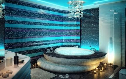Автономная подсветка ванны