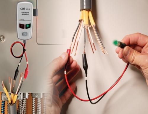 Проверка тестером скрытой электропроводки