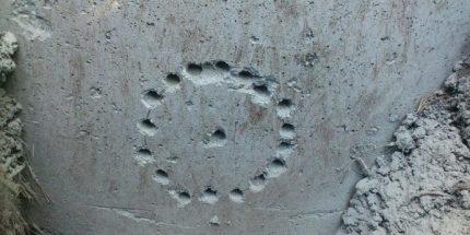 Проделывание отверстий в бетоне