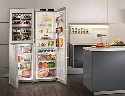 Управление холодильниками марки Liebherr