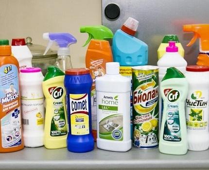 Бытовая химия в борьбе с запахом