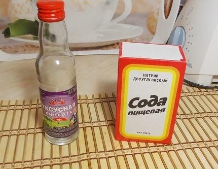 Эффективное средство: комбинация уксуса и соды