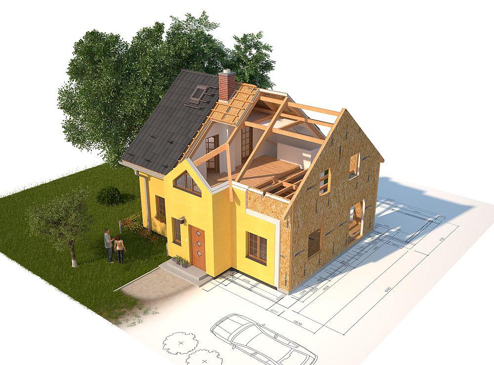 хохлушка дом с картинки к трехлетию сына стройка высотой